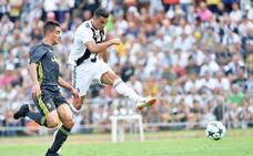 Cristiano ya golea con la Juventus