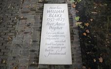Admiradores de William Blake hallan su tumba en Londres