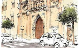 Málaga a trazos: Notre-Dame de El Bulto