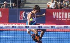 Beatriz González se queda sin final del World Padel Tour de Mijas tras un emocionante partido a tres sets