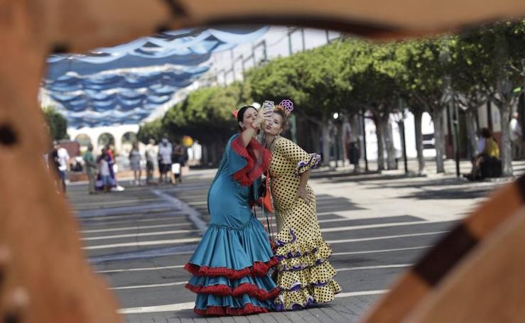 Las mejores imágenes del primer domingo de la Feria de Málaga 2018