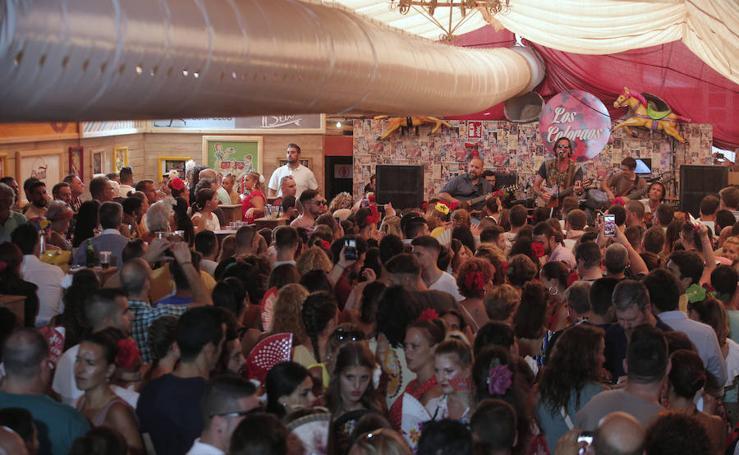 Todas las imágenes del lunes de la Feria de Málaga 2018