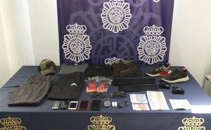 Detenidos tres atracadores en Marbella cuando huían en coche por la avenida del Trapiche