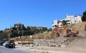 Inician la construcción de un parque y una zona de ocio en la calle Lima en Esteponaee