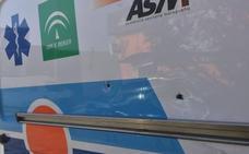 El ataque con una sombrilla a una ambulancia en El Palo se convierte en la tercera agresión a sanitarios en pocos días