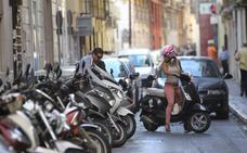 La venta de motos se duplica en Málaga por el aumento del tráfico y los problemas para aparcar