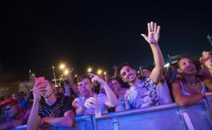 Eskarnia rompe con el cartel masculino en la tercera noche de feria