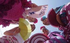 Así se vive la Feria de Día en el Real del Cortijo de Torres