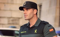 Jorge Sánchez, el guardia civil que causa furor en Instagram