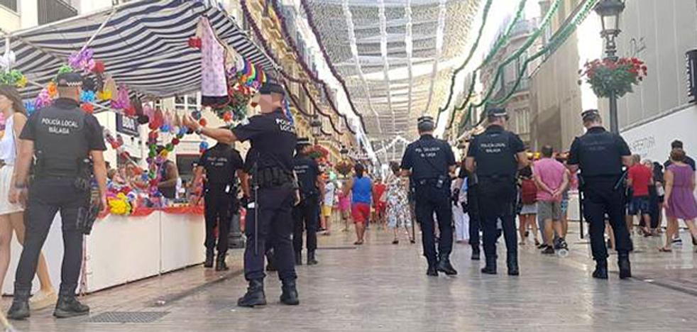 Se elevan a dos los detenidos por la Policía Local acusados de abusos sexuales en la Feria de Málaga