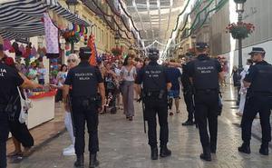 Detenido tras realizar reiterados tocamientos a una chica en la Feria del Centro