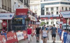 Cortes de tráfico y desvíos con motivo de La Vuelta Ciclista hoy en Málaga