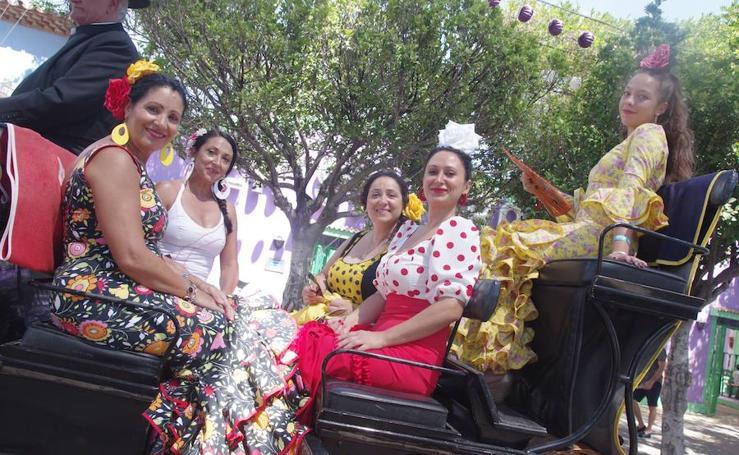 Todas las imágenes del viernes de la Feria de Málaga 2018