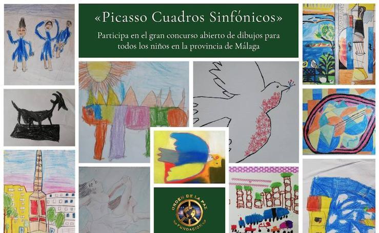La obra de Picasso, vista por niños: concurso de la Fundación Orden de la Paz