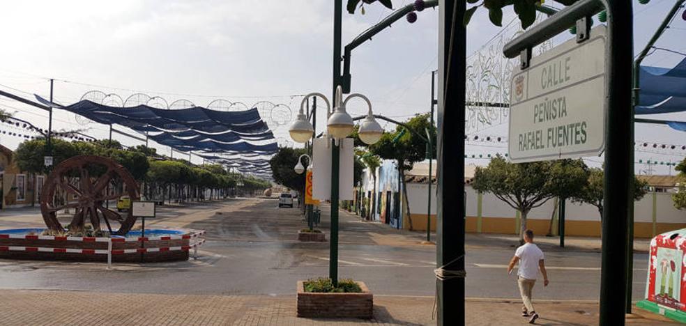 Media docena de agentes intentaron inmovilizar al joven fallecido en la Feria de Málaga