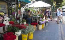 El Ayuntamiento de Málaga no sabe dónde reubicar los puestos de flores por las obras de la Alameda Principal