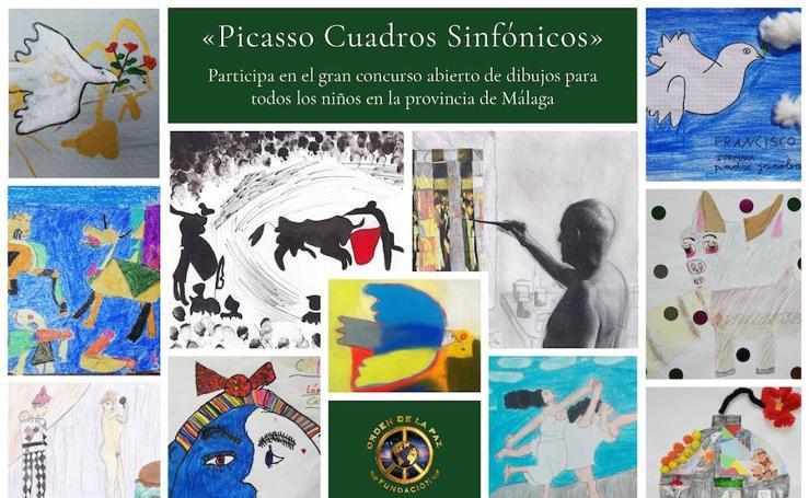 La obra de Picasso, vista por niños: concurso de la Fundación Orden de la Paz (II)