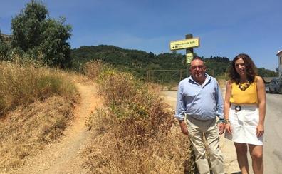 La Diputación invertirá 60.000 euros en un sendero de subida a la Sierra del Hacho de Gaucín