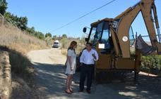 Concluyen las mejoras en diversos caminos rurales