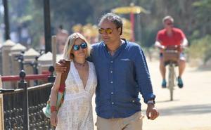 Eugenia Martínez de Irujo se relaja en Marbella