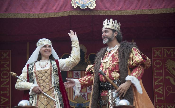 La Cabalgata Histórica cierra la Feria de Málaga 2018