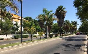 Siete heridos en una colisión entre dos turismos en Marbella