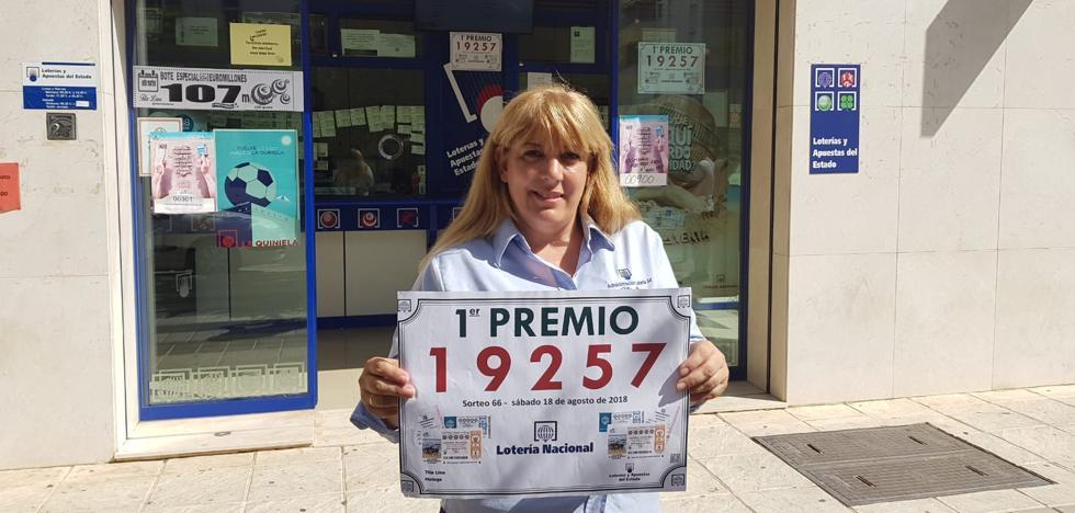Una lotera de Teatinos guarda un décimo premiado con 60.000 euros a un cliente que no lo pagó