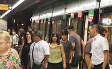 El metro transportó en feria de Málaga a un 12% más de pasajeros que el año anterior