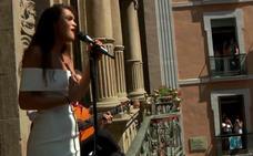 Amaia Romero, ganadora de OT 2017, arrasa en Pamplona con su versión más flamenca