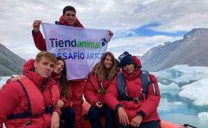 La aventura glaciar de Cristóbal Angulo