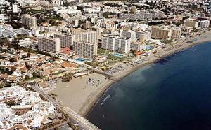 Muere un bañista en la playa de Fuente de La Salud de Benalmádena