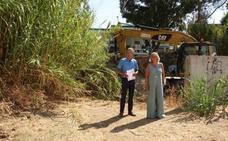 El Ayuntamiento triplica la partida para la limpieza de los arroyos de Málaga