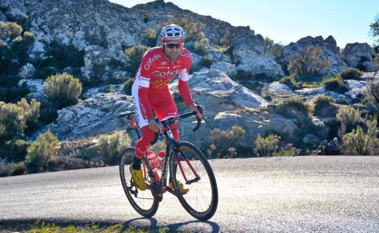 El malagueño, Luis Ángel Maté, apura los días para La Vuelta