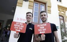 Los 'gallos' de La Vuelta España 2018, listos para la acción en Málaga