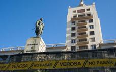 Cuenta atrás en la Alameda para que el marqués de Larios baje de su pedestal