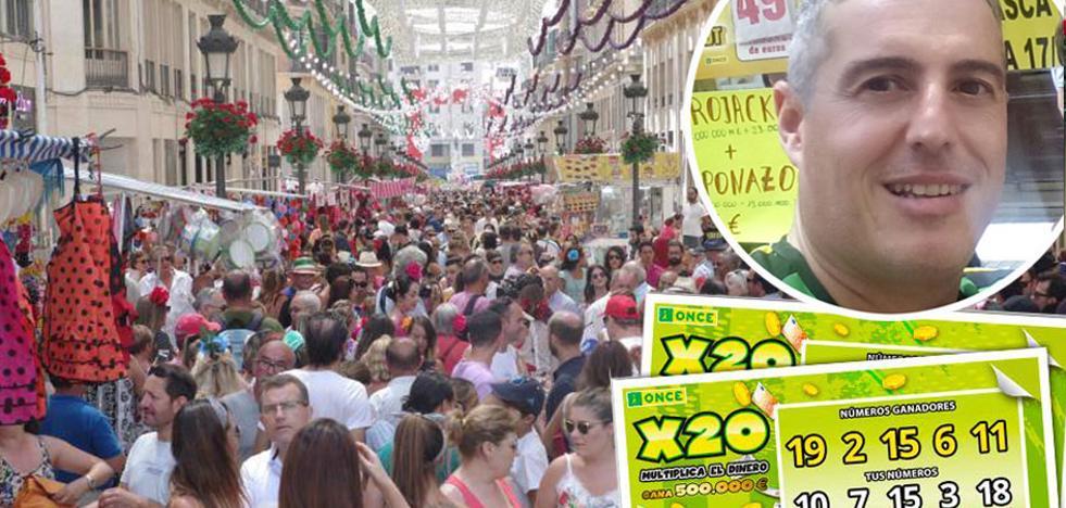 Un premio de 500.000 euros en plena Feria de Málaga