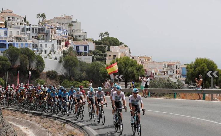 La Vuelta 2018 en Málaga: las mejores fotos en la capital y la provincia