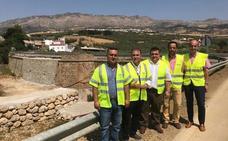 Las obras de reparación en la A-7075, entre Villanueva de la Concepción y Almogía, concluirán en septiembre