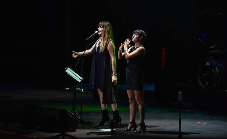 Imágenes de los conciertos de Rosalía y Rozalén en el Starlite de Marbella