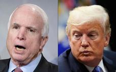 Entre McCain y Trump, un mutuo desprecio