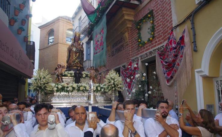 Traslado de la Virgen de la Victoria, Patrona de Málaga, hasta la Catedral para la celebración de su anual novena