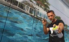Un espejo de cuarenta y cinco metros de los Baños del Carmen