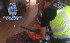 Siete detenidos por el secuestro de un joven al que golpearon en una finca de Cártama durante más de ocho horas