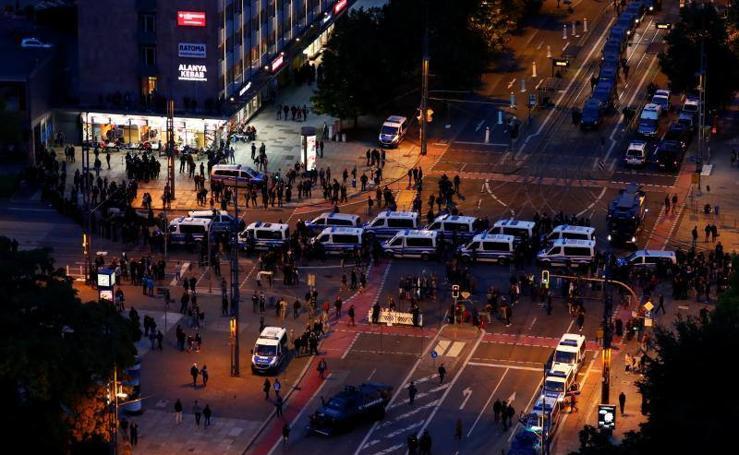 Marcha de miles de ultraderechistas en Alemania