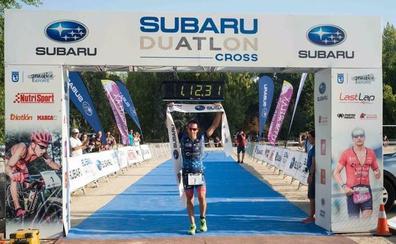 Rubén Ruzafa vence en el IV Subaru Duatlón Cross de Madrid en su reaparición tras superar una lesión