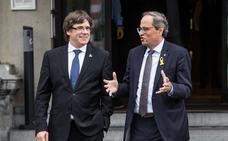 Puigdemont no volvería a optar como president ni aunque se concretara la independencia
