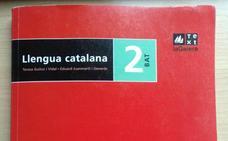 Un alumno catalán denuncia cómo «adoctrinan» los libros de texto