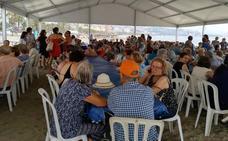 Los mayores del interior de la provincia disfrutan de la costa de Málaga