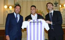 Ronaldo Nazario compra el Real Valladolid y promete «crecer hasta donde las ilusiones lo permitan»