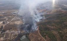 Controlado el incendio forestal en Málaga en la zona de Los Asperones